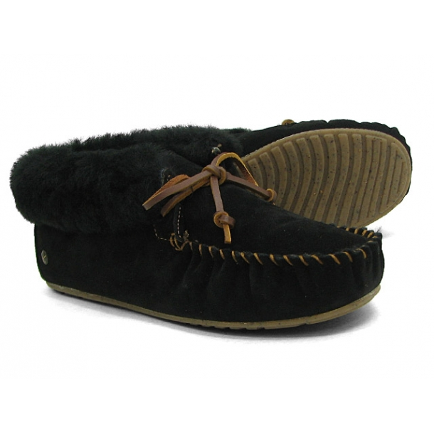 Emu moccasin slippers Moonah